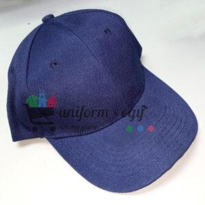 -كاب مستورد سادة - كحلى - cap Imported - dark blue